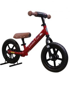 Sepeda Sepeda London Taxi Kick Bike – Red