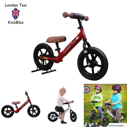 Sepeda Sepeda London Taxi Kick Bike – Black