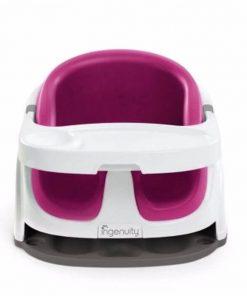 Kursi Makan Ingenuity Baby Base 2in1 Booster Seat – Pink Flambe