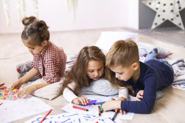 Manfaat Mewarnai Gambar Anak Untuk Kecerdasan Si Kecil