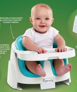 Kursi Makan Ingenuity Baby Base 2in1 Booster Seat – Ultramarine Green