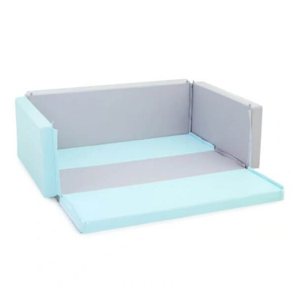 Bumperbed & Playmat Lumba Bumperbed New Anti Bakterial 7,5cm – Scandinavian Light Blue