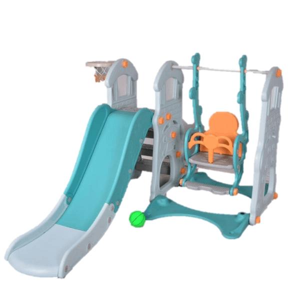 Baby Activities Parklon Big Castle 3-in-1 Fun Slide & Swing – Tosca