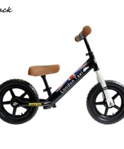 Sepeda Sepeda London Taxi Kick Bike – Black
