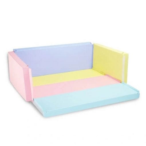 Bumperbed & Playmat Lumba Bumperbed New Anti Bakterial 7,5cm – Cotton Candy