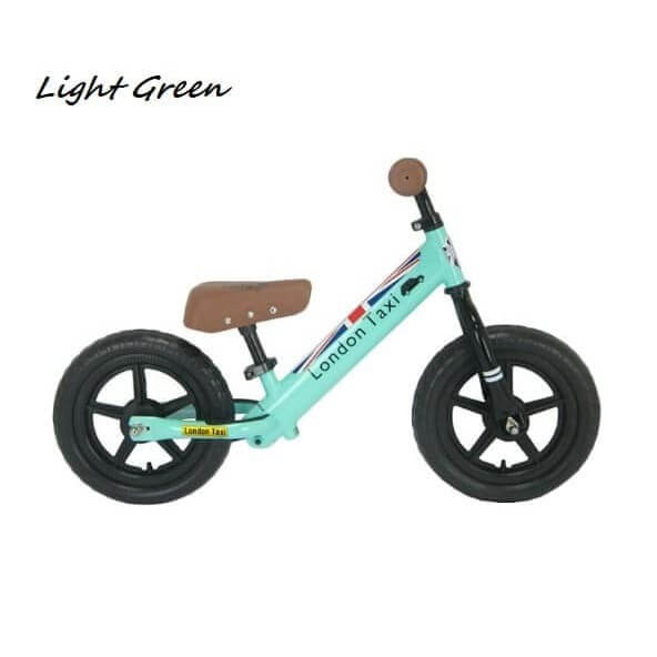 Sepeda Sepeda London Taxi Kick Bike – Light Green