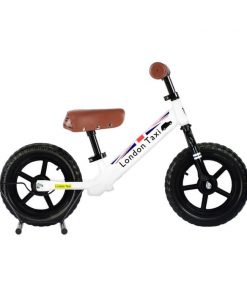Sepeda Sepeda London Taxi Kick Bike – White