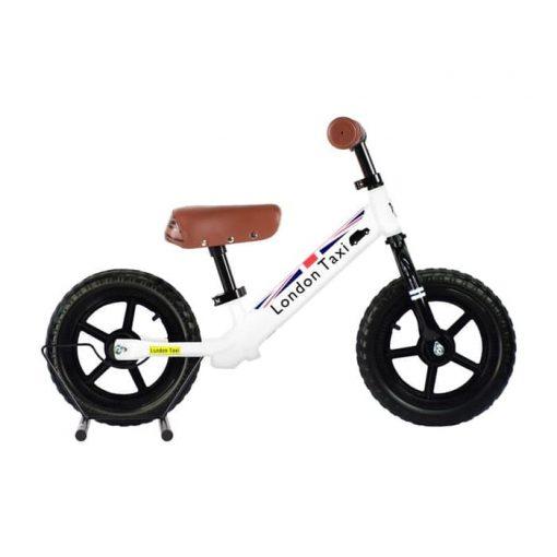 Sepeda Sepeda London Taxi Kick Bike – White
