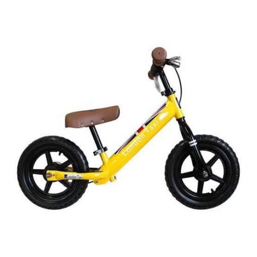 Sepeda Sepeda London Taxi Kick Bike – Yellow