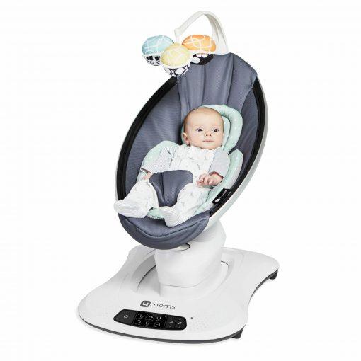 Baby Bouncer 4moms Mamaroo 4.0 Bouncer – Mesh Grey