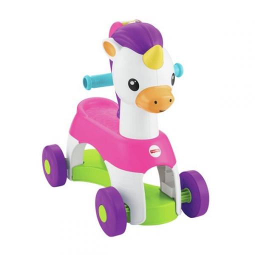 Baby Activities Fisher Price Rollin Tunes Unicorn Ride On
