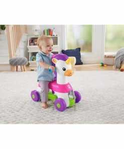 Baby Activities Fisher Price Rollin Tunes Unicorn Ride On