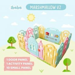 Baby Fence Ibebe Marshmallow Fence 10+2 – Candy