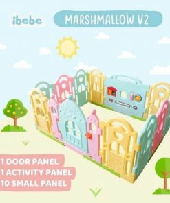 Baby Activities Ibebe Marshmallow Fence 10+2 – Candy