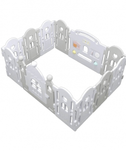 Baby Activities Ibebe Marshmallow Fence 10+2 – Monochrome