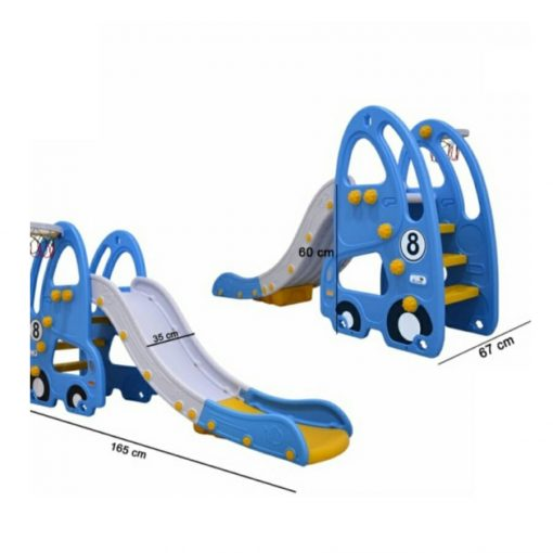 Baby Activities Labeille Luxury Otto Slide and Swing – Blue
