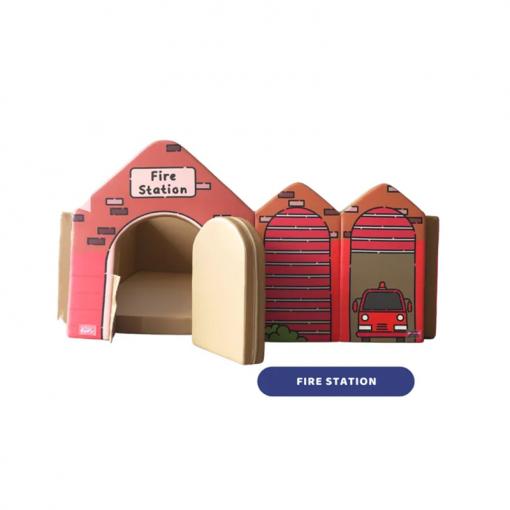 Baby Fence Empuk Jr Nest+ Bumperbed Roleplay Series: Fire Station