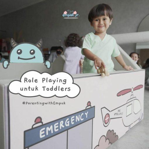 Baby Fence Empuk Jr Nest+ Bumperbed Roleplay Series: Hospital