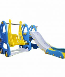 Toys Labeille Luxury Otto Slide and Swing – Blue