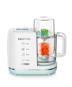 Food Processor and Sterilizer OONEW Baby Pure 6in1 Digital Baby Food Processor – Green Honey Limite