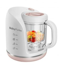 Food Processor and Sterilizer Oonew Baby Puree Petite Series 4in1 – Pink Salmon