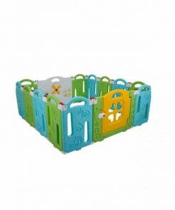 Baby Activities Labeille Tropical Fruit Folding Fence 12+2 Pagar Anak