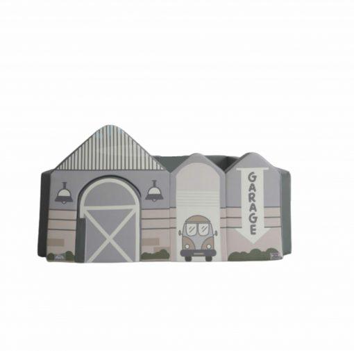 Baby Fence Empuk Jr Nest+ Bumperbed Roleplay Series: Garage