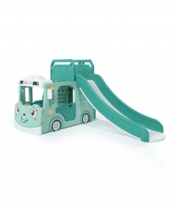 Toys Happy Play Bus Slide 2in1 – Green