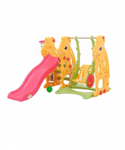 Toys Labeille Bunny 3in1 Slide Swing Play n Grow Activity Playground