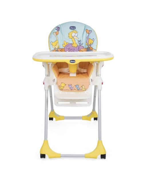 Kursi Makan dan Highchair Chicco Polly Easy 2 In 1 High Chair – Birdland Yellow