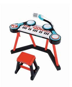 Baby Activities ELC Keyboard Key-Boom-Board – Red