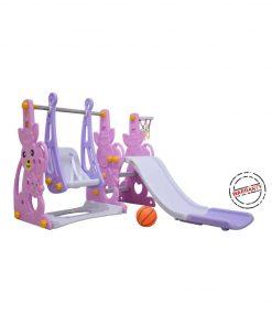 Toys Ayunan dan Seluncuran Labeille Kangaroo Slide and Swing – Pink