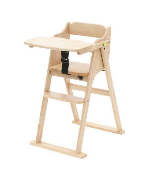 Kursi Makan dan Highchair Yamatoya Tatameru High Chair – Natural