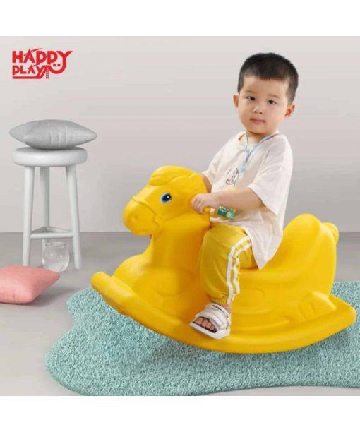 Toys Rocking Horse Happy Play – Merah