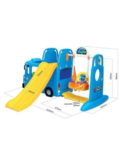 Toys Yaya Tayo Bus 4in1 Slide and Swing