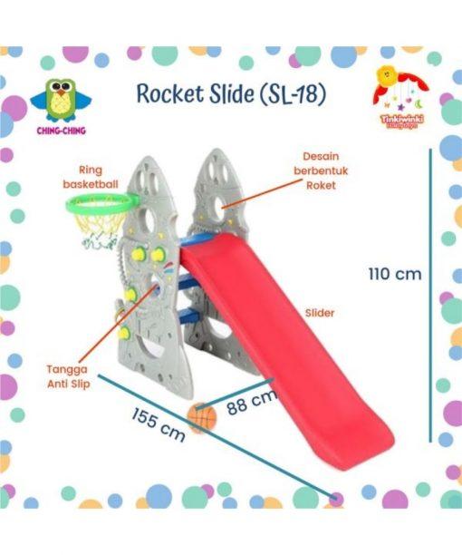 Toys Ching Ching Rocket Slide