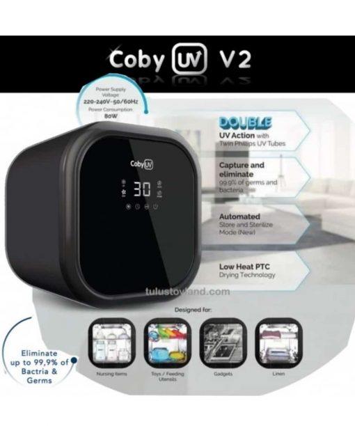 Food Processor and Sterilizer Coby Haus UV Sterilizer V2 – Black