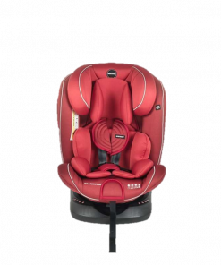 Carseat Babydoes Full Rotate 360 Isofix Carseat – Red